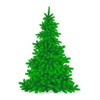 古典的なクリスマスツリー