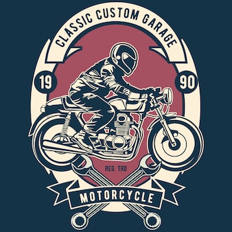 Classic custom garage