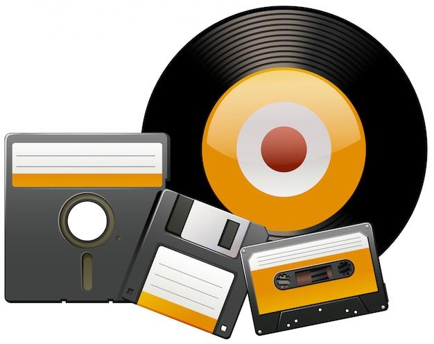 Классические диски и ленты