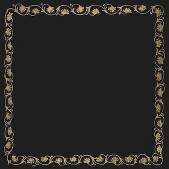 Классическая цветочная рамка
