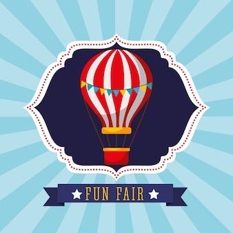 Фестиваль классического веселья на воздушном шаре