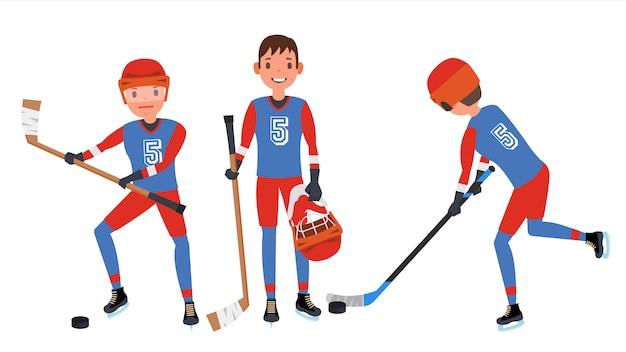 Classic ice hockey