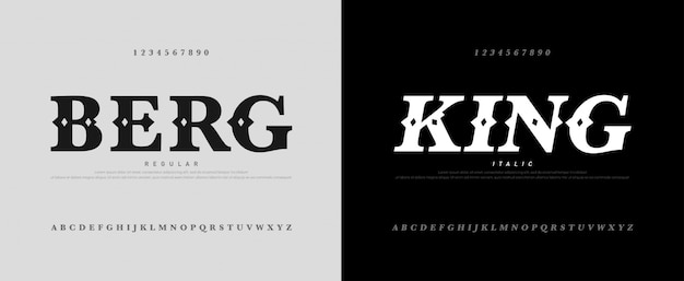 Classic luxury alphabet logotype with royal font