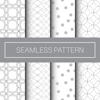 Classic and modern seamless pattern collection