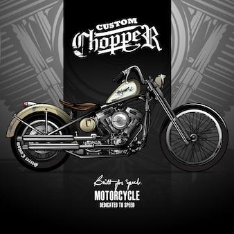 Классический плакат для мотоциклов