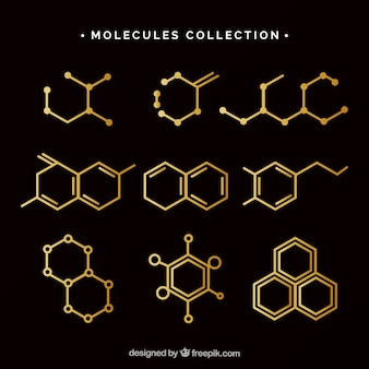 Classic pack of molecules