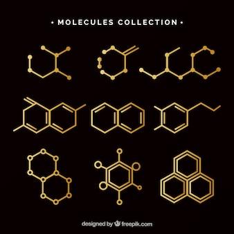 Classic pack of molecules