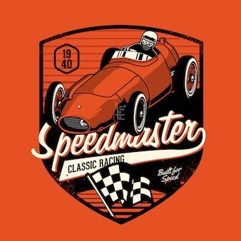 Classic racer car