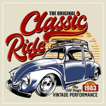 Classic ride car