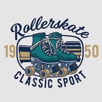 Classic rollerskate