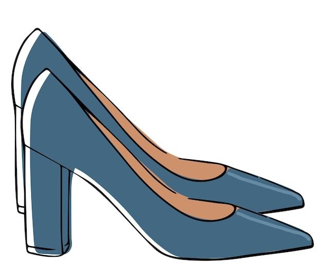 かかとの女性のファッショナブルな靴の古典的な靴