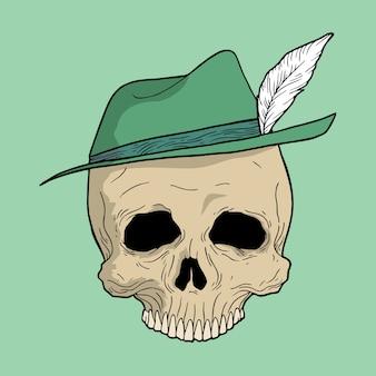 Classic skull