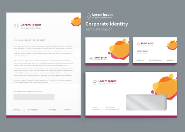 Classic stationery business template