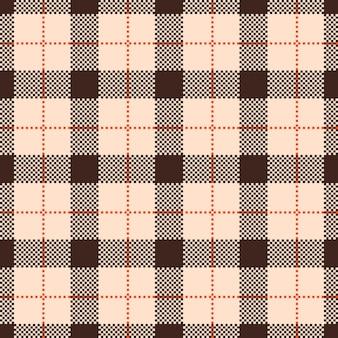 Classic tartan and buffalo check plaid seamless patterns