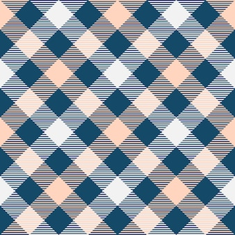 클래식 타탄과 버팔로 체크 무늬 원활한 패턴.