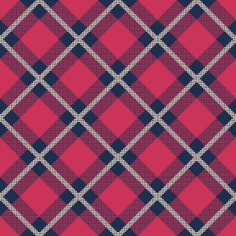 Classic tartan and buffalo check plaid seamless patterns.