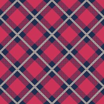 Classic tartan and buffalo check plaid seamless patterns.