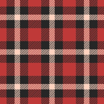Classic tartan, gingham, buffalo, lamberjack, merry christmas check plaid seamless pattern