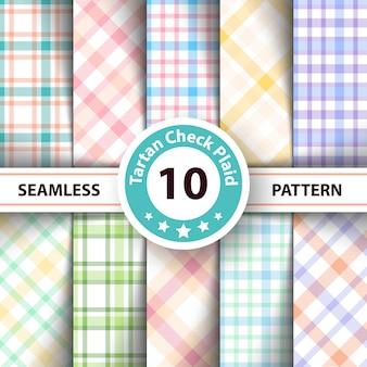 Classic tartan pattern