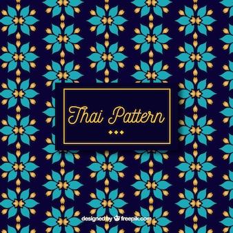 Modello classico tailandese con design piatto