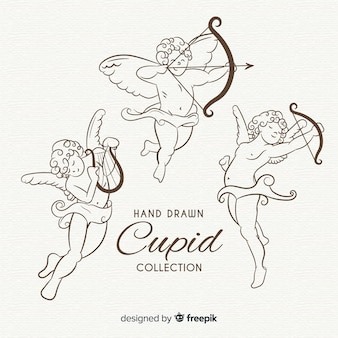 Classic valentine cupid collection