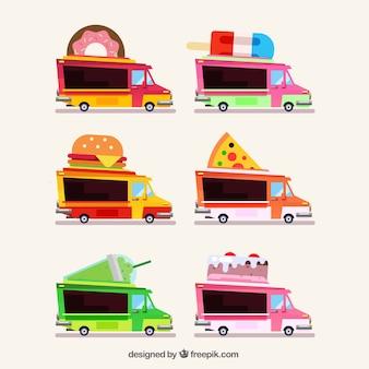 Varietà classica di autocarri piatti