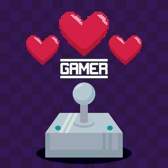 Classic video game joystick