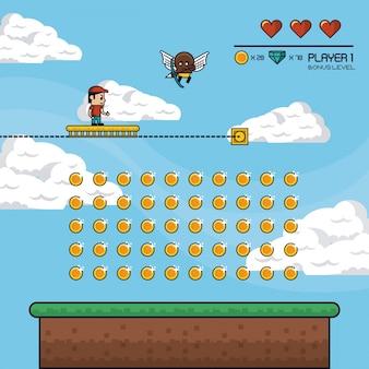 Классический декор видеоигр