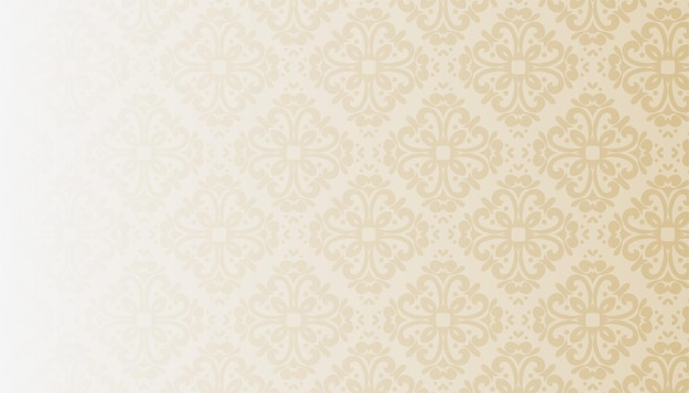 Classic vintage floral texture background Free Vector