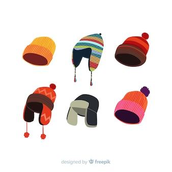 古典的な冬帽子コレクション