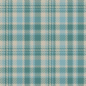 클래식한 체크 타탄 패턴. 원활한 추상 텍스처입니다. 기하학적 컬러 벽지. 벡터 패브릭 디자인입니다.