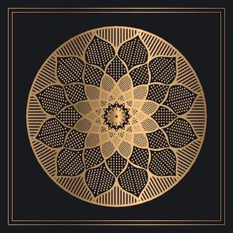 古典的な黄金の曼荼羅