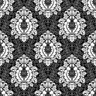 Classical luxury old fashioned damask pattern.