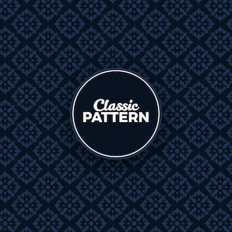 Classical pattern seamless background