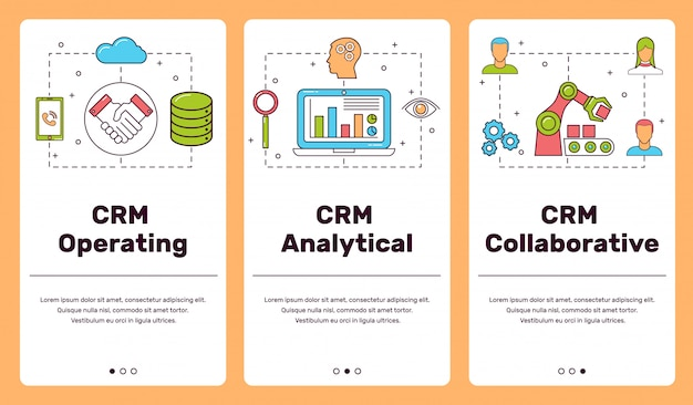 Classification of crm-systems