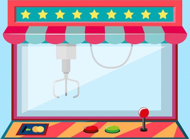 A claw crane machine game