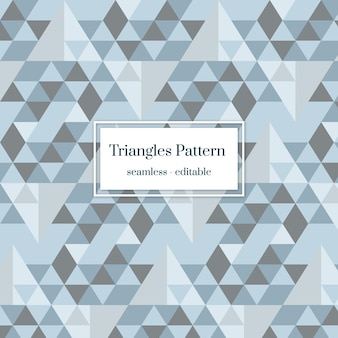 Clean background of grey triangles pattern seamless