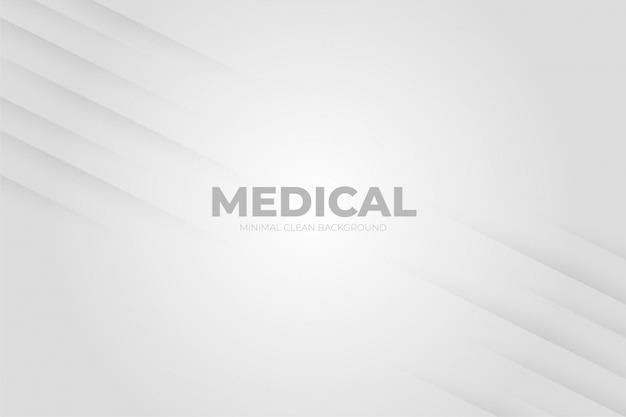 Clean background with medical shapes