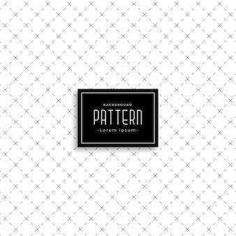 Clean cross diagonal line pattern
