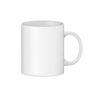 A clean cup is ready for your use and for your design.