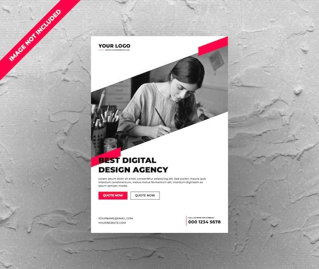 Чистое цифровое агентство flyer