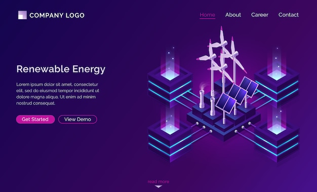 Clean energy, modern power engineering website