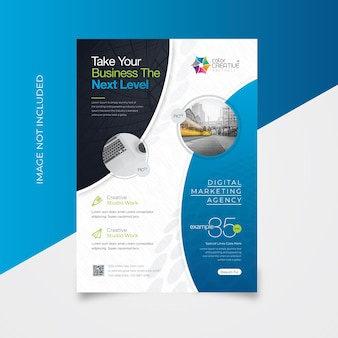 Clean flyer template