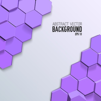 Clean geometric mosaic background