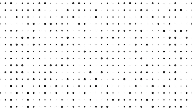 Clean halftone pattern
