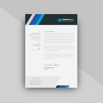 Clean letterhead for resume