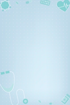 Clean medical background vector