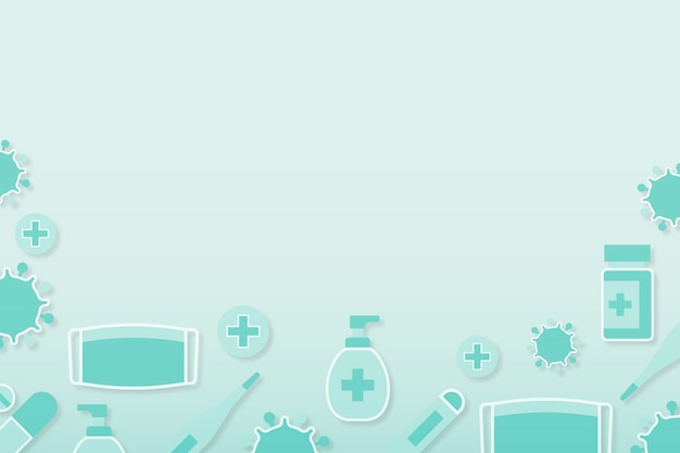 Clean medical background