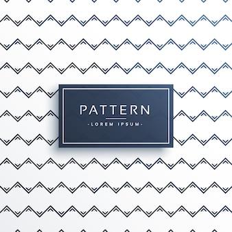 깨끗한 최소한의 지그재그 스타일 패턴 디자인