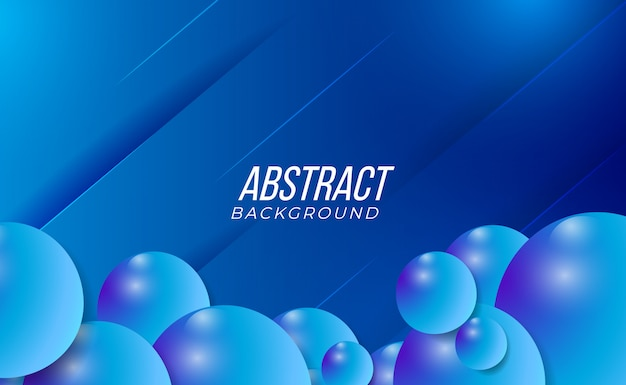 Clean and modern colourful 3d blue abstract gradient background for abstract party technology fashion interior